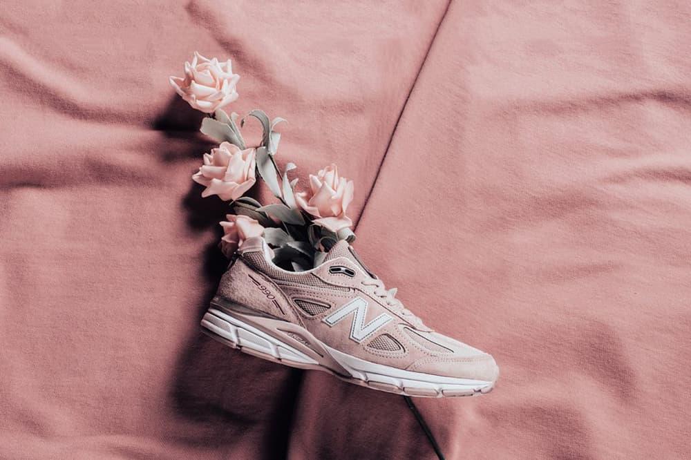 New Balance 990 Faded Rose Komen Pink