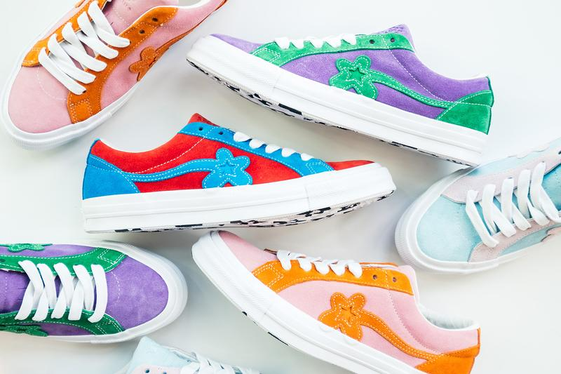 Tyler The Creator Converse Golf Le Fleur Two Tone Red Blue Green Purple Pink Orange