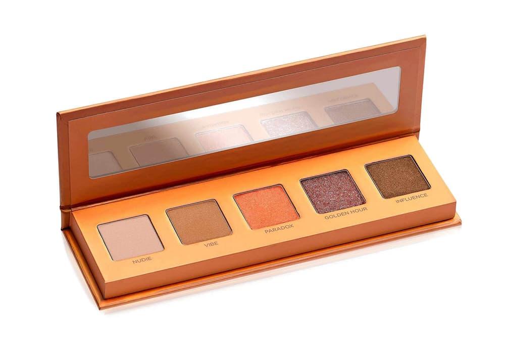 Urban Decay Lightbeam Eyeshadow Palette Brown Peach Natural Bronze