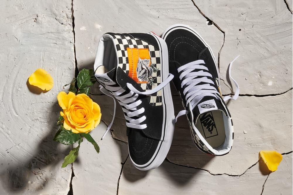 Vans Satin Patchwork Sk8-Hi Floral