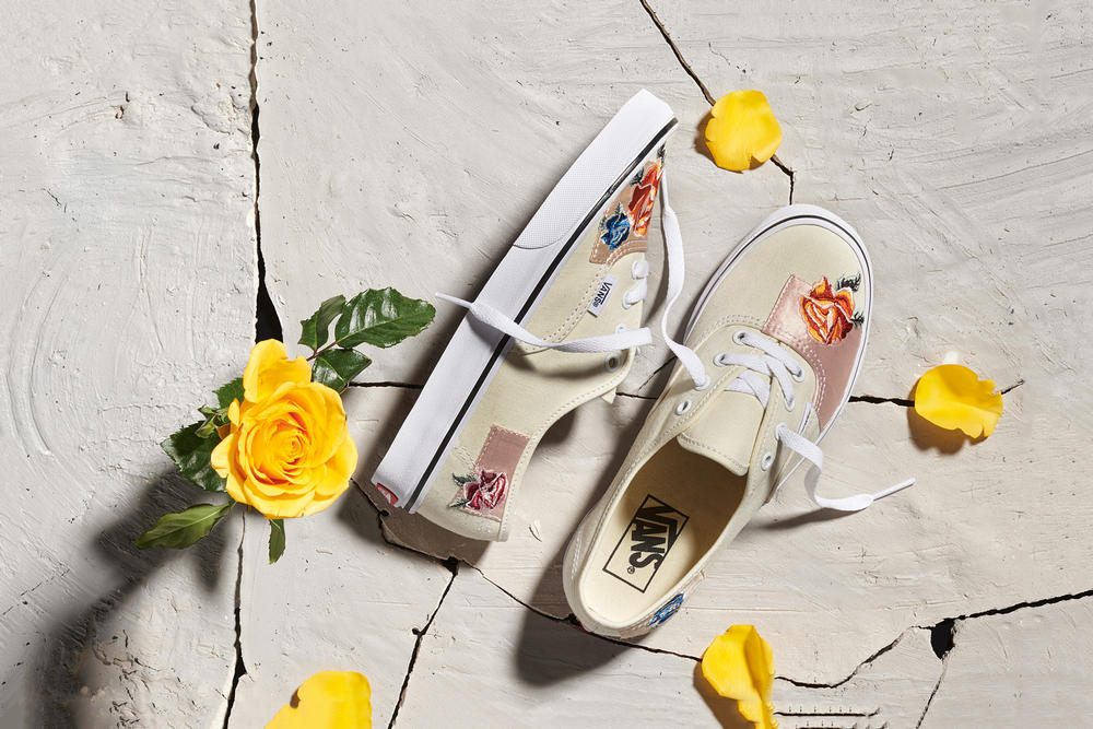 Vans Satin Patchwork Authentic Floral