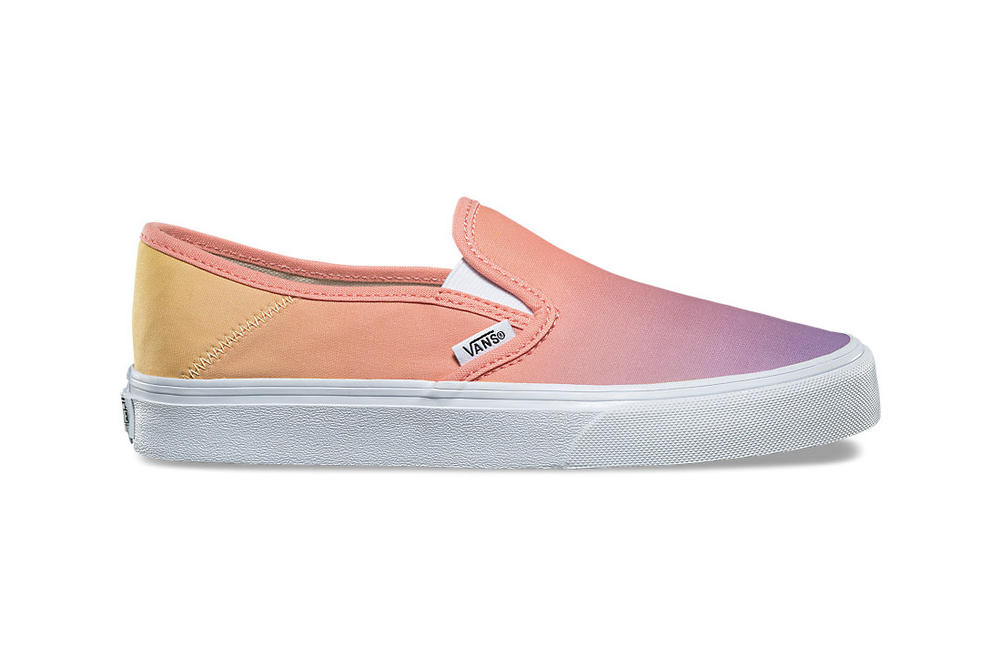 "Vans Ombré ""Sunset Fade"" Pack Slip-On Authentic UltraRange Mesh"