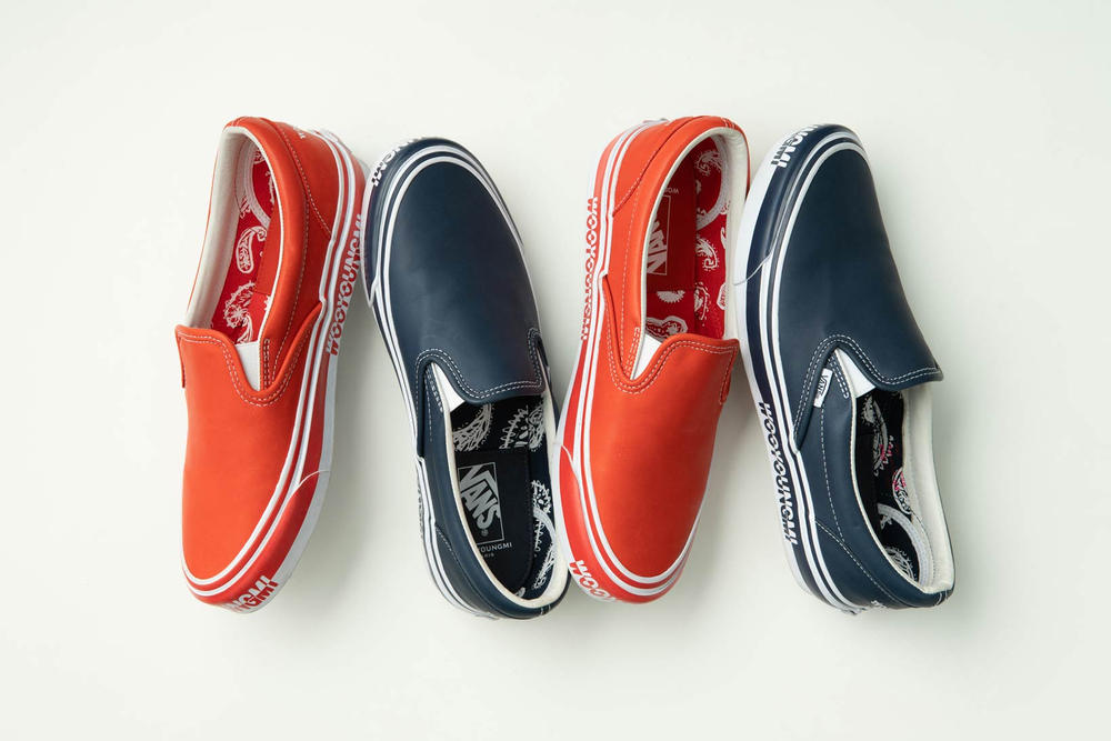WOOYOUNGMI Vault By Vans Slip On Red Blue