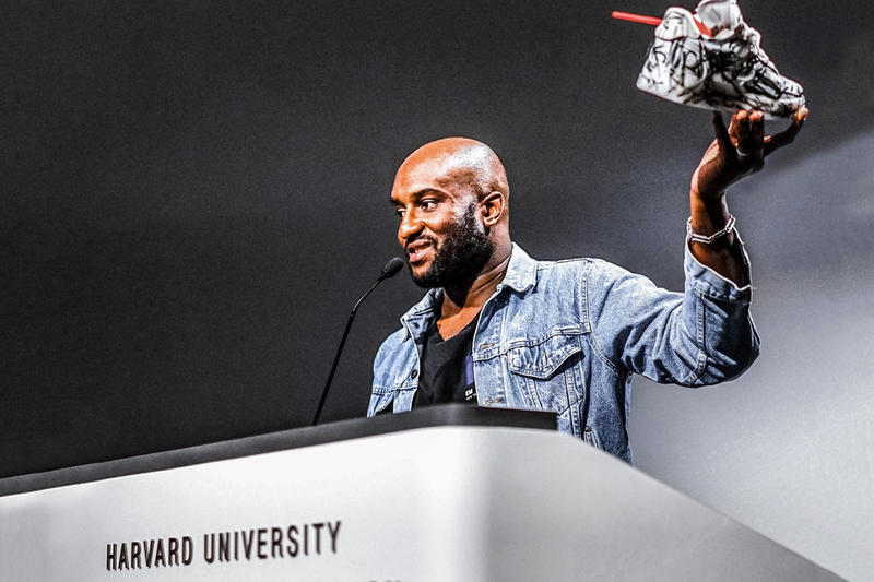 Virgil Abloh Harvard Lecture Book Live Print Covers
