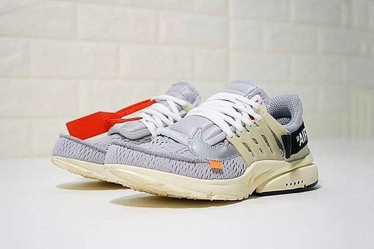 Virgil Abloh x Nike Air Presto Wolf Grey