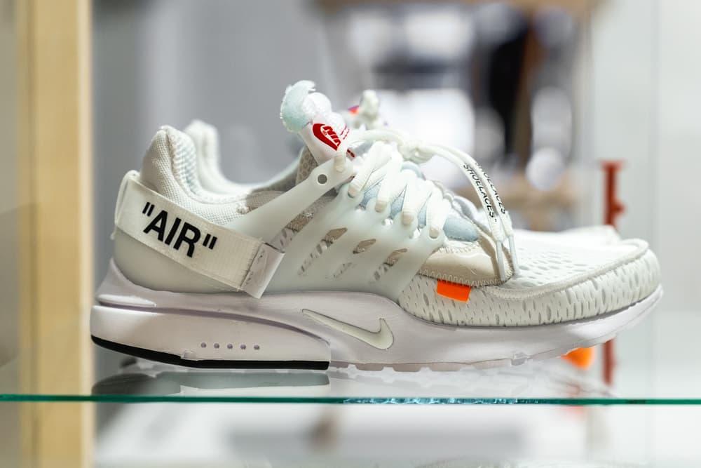 promo code 69390 7b9fe Virgil Abloh x Nike Air Presto White