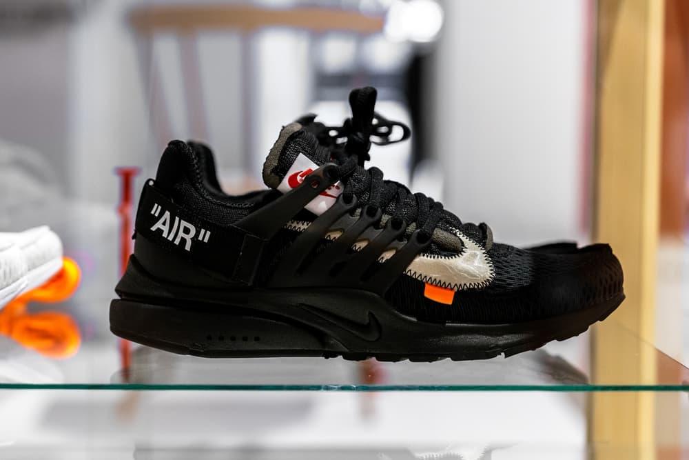 Virgil Abloh x Nike Air Presto Black