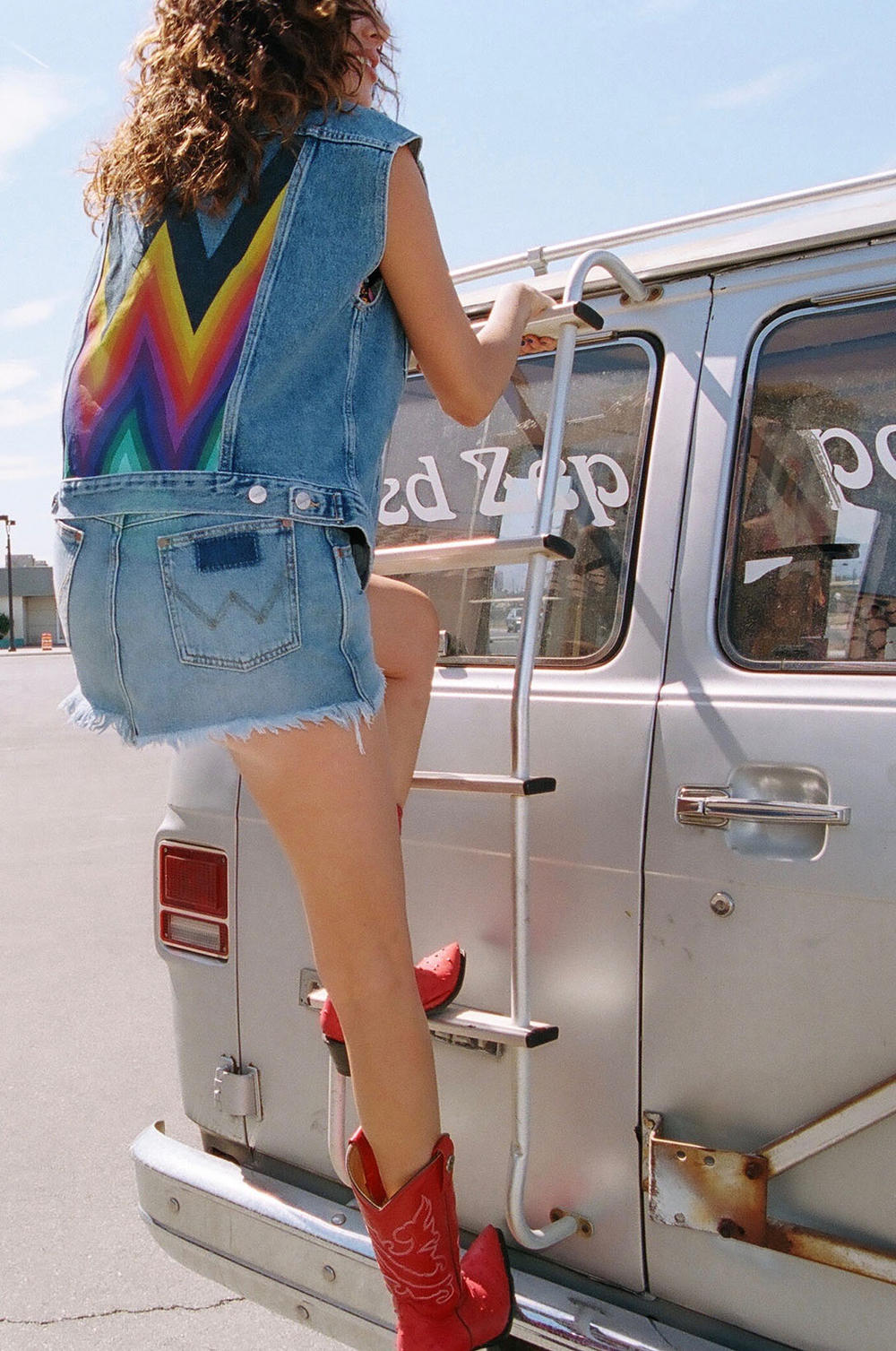 Summer of Wrangler Denim Summer Campaign Preview 1980s Road Trip