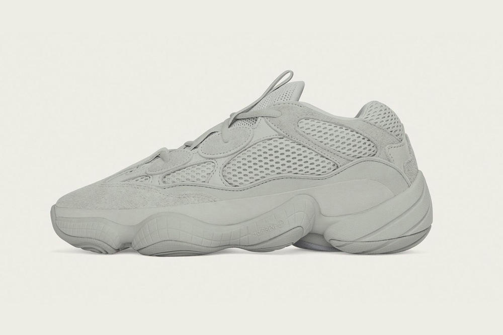 Kanye West yeezy boost 500 salt grey colorway new color revision