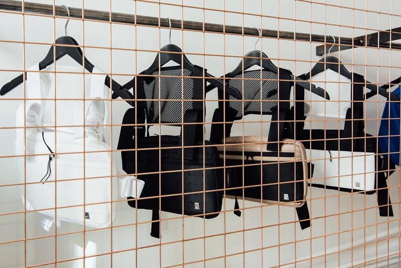 1017 ALYX 9SM Matthew Williams Nike Pop-Up Paris Fashion Week Men's Tactical Vests White Black
