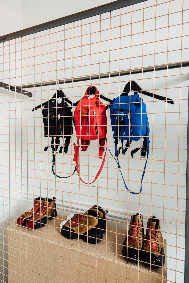 1017 ALYX 9SM Matthew Williams Nike Pop-Up Paris Fashion Week Men's Baby-X Bag Black Red Blue