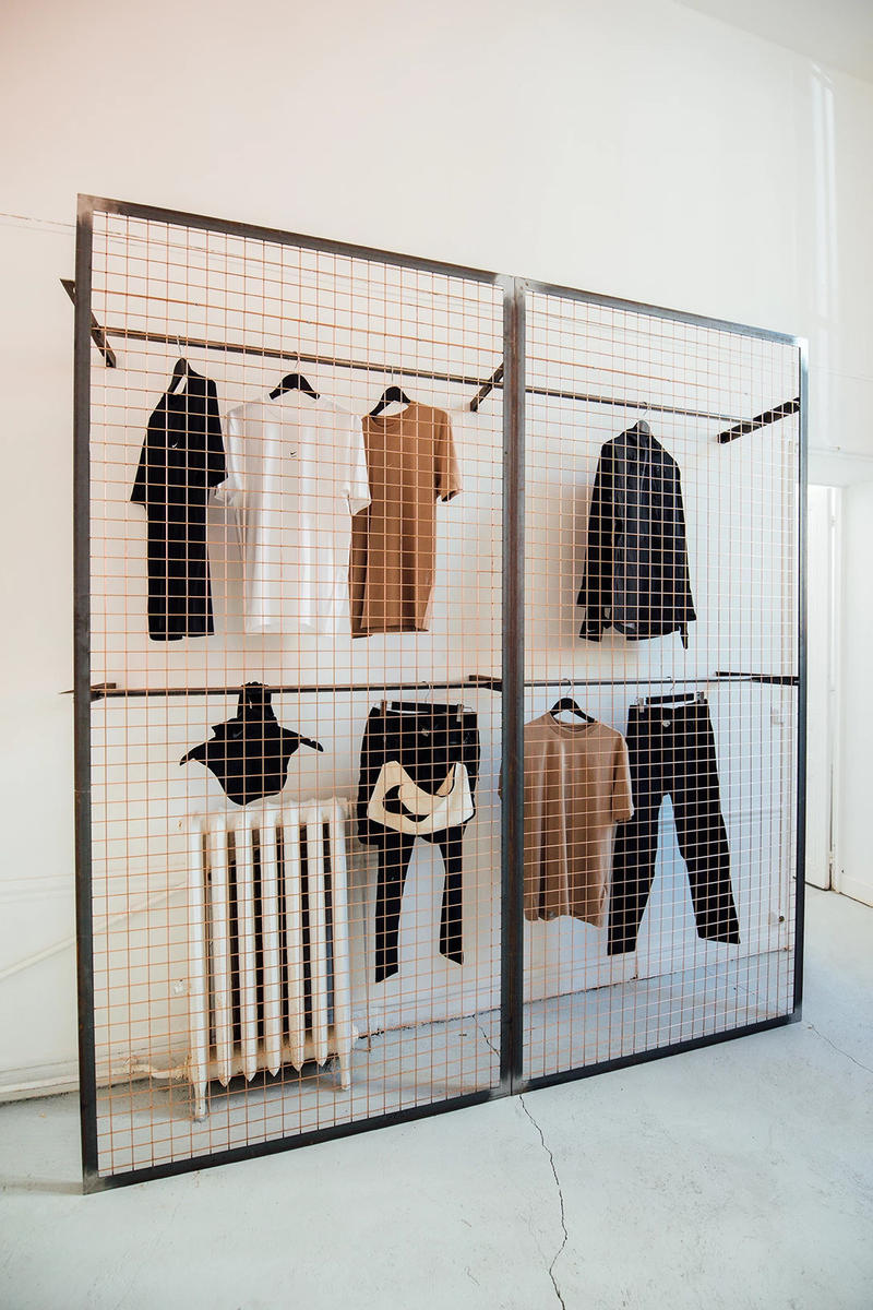 1017 ALYX 9SM Matthew Williams Nike Pop-Up Paris Fashion Week Men's T-Shirts Black White Brown