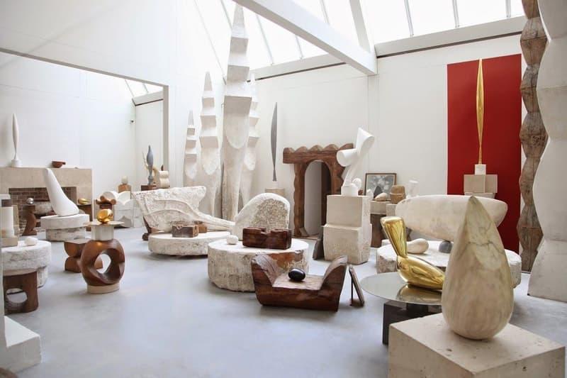 Ambush verbal Yoon Waves spring summer 2019 Collection paris centre pompidou atelier brancusi
