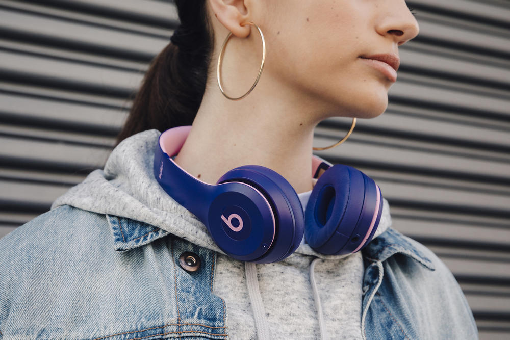 "Beats By Dre ""Pop"" Collection Violet Indigo Magenta Blue  Solo3 Wireless Powerbeats3 Headphones Earphones MNEK"