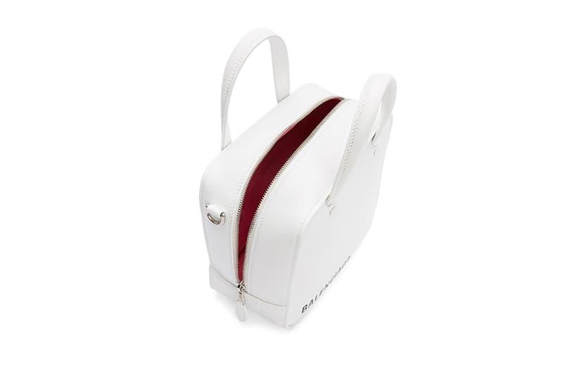 Balenciaga Mini Square Bag White Black demna gvasalia ssense