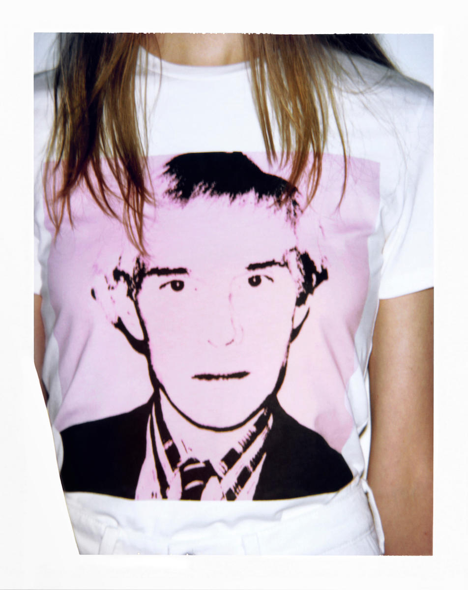 "CALVIN KLEIN x Andy Warhol ""Self Portraits"" Collection Jeans T-shirts Hoodies"