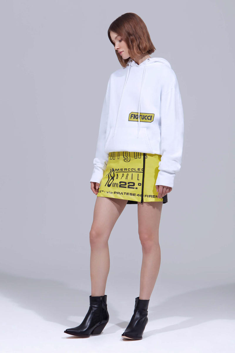Fiorucci Pre-Spring 2019 Lookbook Collection Materials Texture Transparent Shimmer