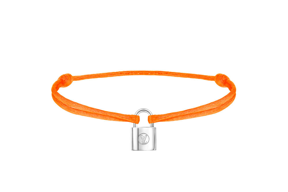 Louis Vuitton Silver Lockit Charity Bracelets Hypebae