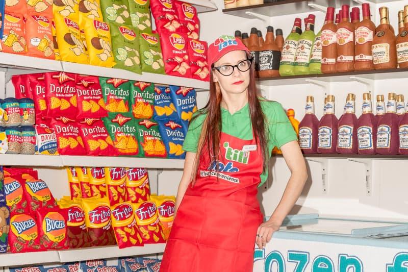Lucy Sparrow Artist Felt Supermarket Los Angeles The Standard LA