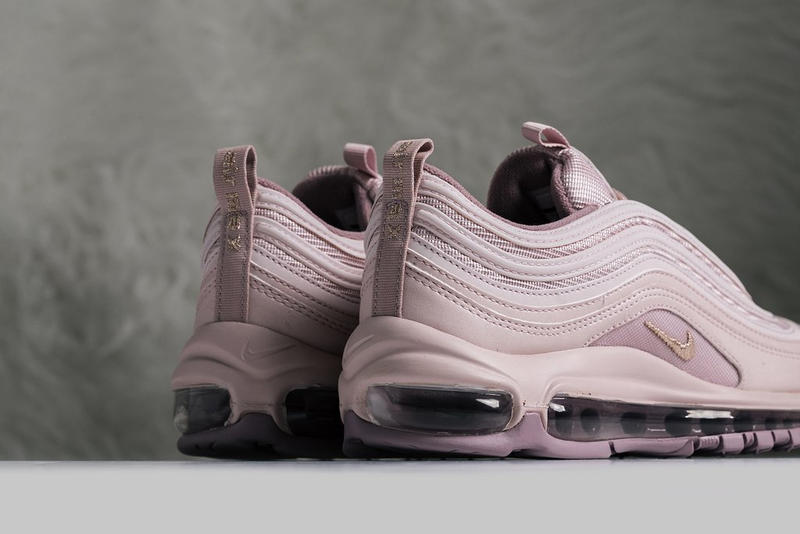 "Nike Air Max 97 ""Barely Rose/Elemental Rose"" Sneaker Shoe Trainer Silhouette Retro"