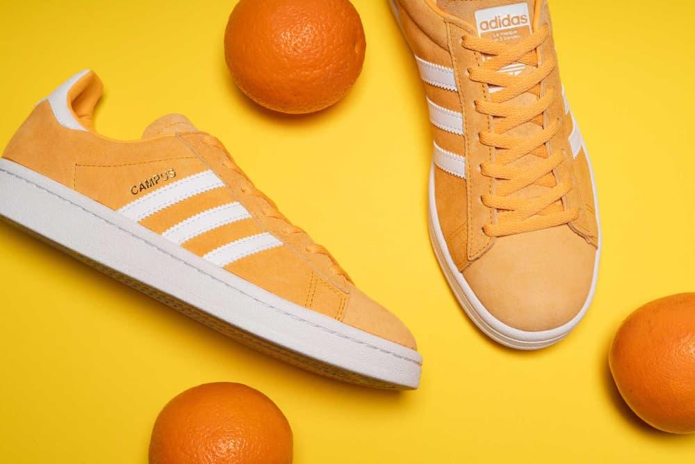 "adidas Originals Campus in ""Chalk Orange"" Retro Sneaker Summer Silhouette Sporty"