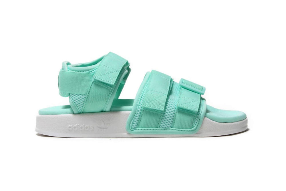 adidas Originals Adilette Sandals Clear Mint