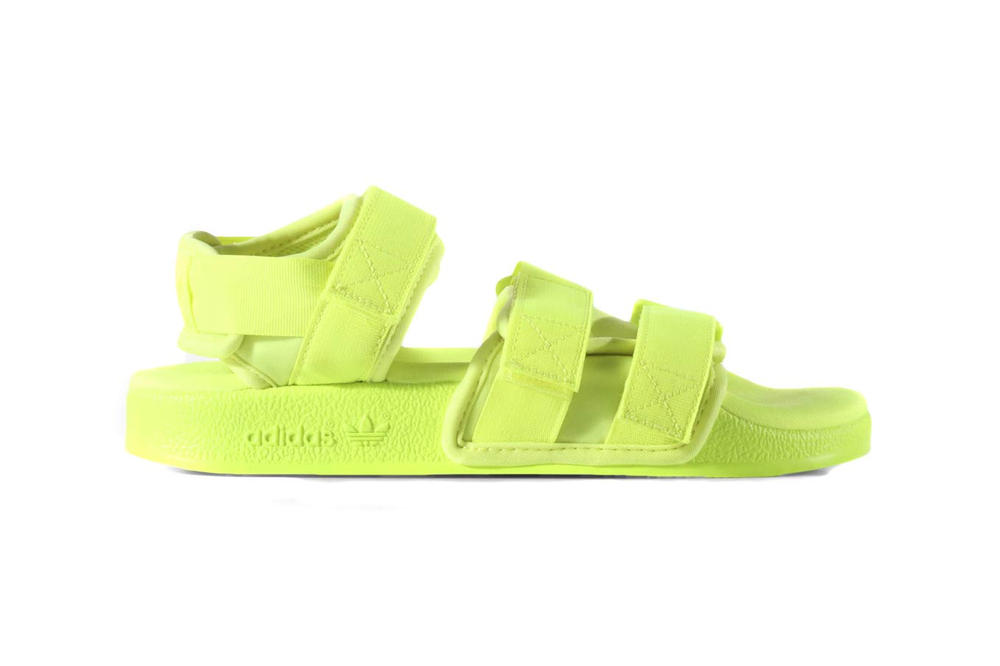 adidas Originals Adilette Sandals Solar Yellow