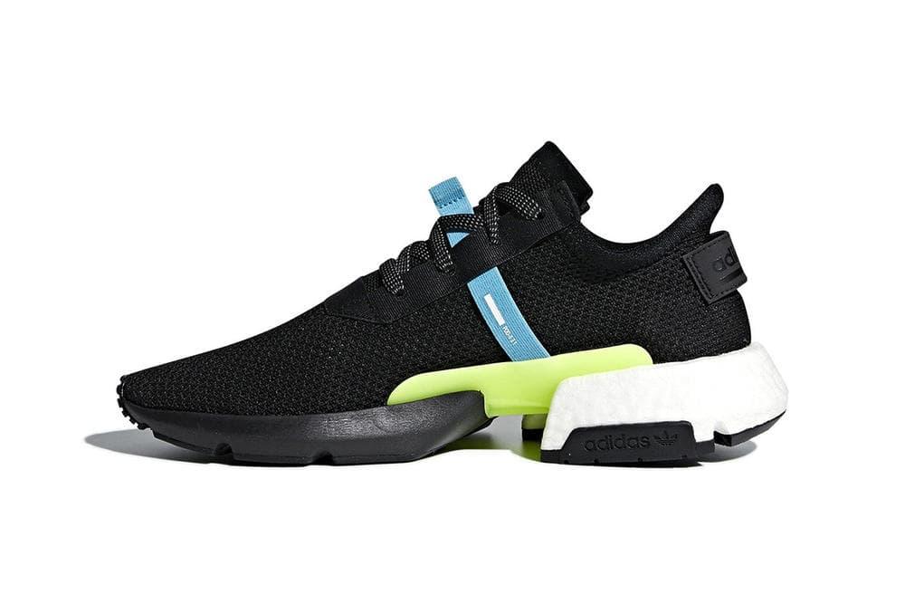 adidas Originals P.O.D S3.1 System Sneaker Black