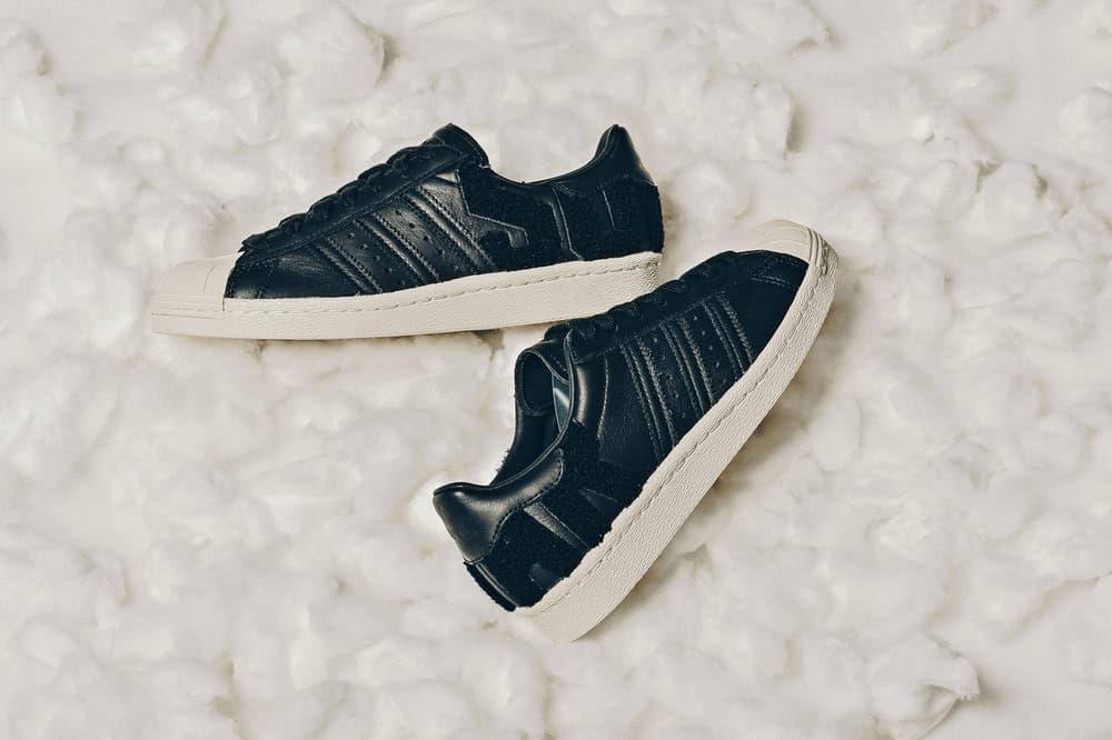 adidas Originals Superstar 80s Varsity Letters Black