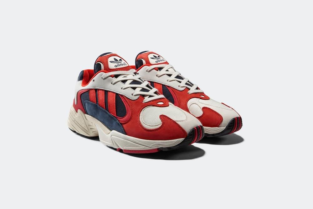adidas originals yung 1 collegiate navy red white kanye west yeezy boost 700 wave runner
