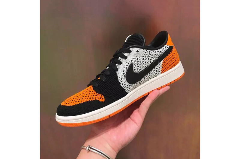 Air Jordan 1 Low Flyknit Shattered Backboard Orange