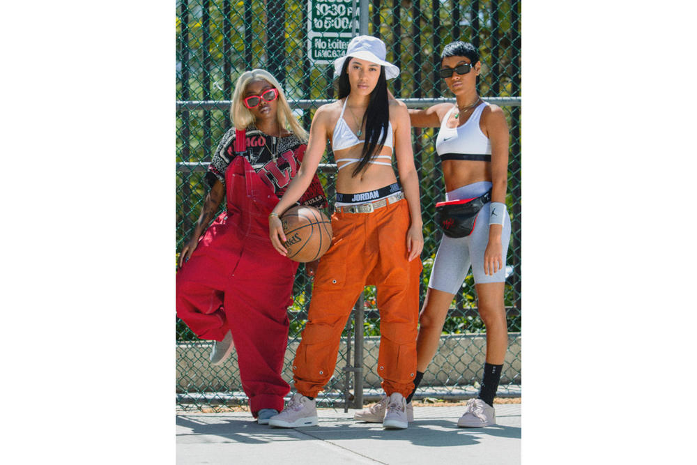 Air Jordan Spring/Summer 2018 Campaign Aleali May Siobhan Bell Sasha de Oliveira 3 Particle Beige 1 Low Metallic Red Bronze 1 Zip MIca Green Sail
