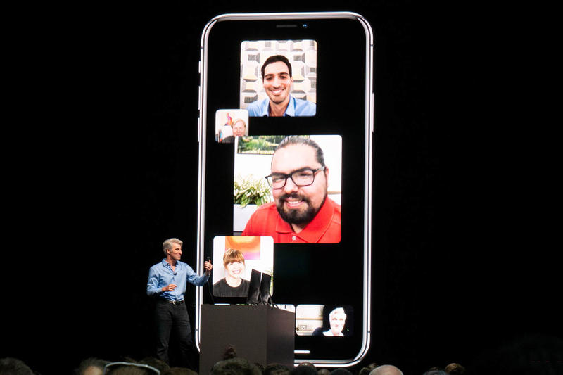 Apple Group Facetime iOS 12