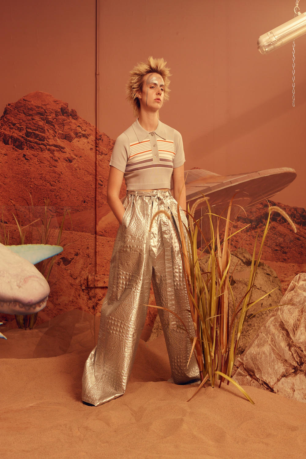 Astrid Andersen Spring 2019 Collection Presentation Sashadidntwakeup MO MØ