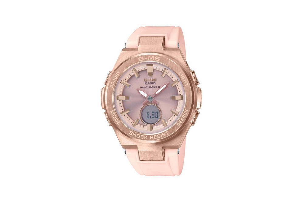 Baby-G Jimisu Watch Collection Rose Gold Pink