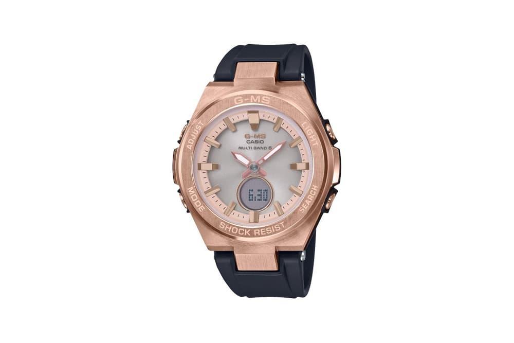 Baby-G Jimisu Watch Collection Rose Gold Black