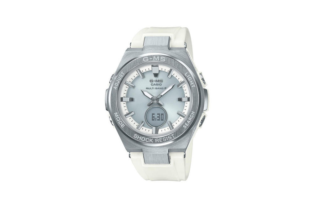 Baby-G Jimisu Watch Collection Silver White