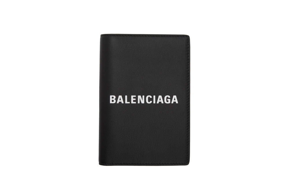 Balenciaga Logo Tote Bag Wallet Accessories Passport Case