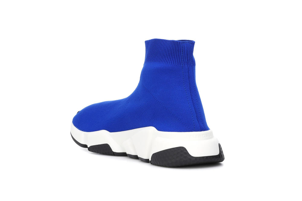 """Balenciaga Speed Trailers in """"Electric Blue"""" Sock Sneakers Runners Shoes"""