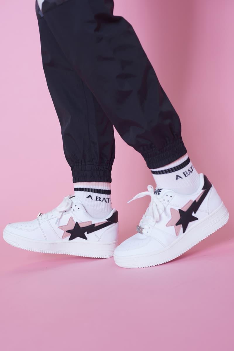 BAPE Fall/Winter 2018 Streetwear Lookbook Sneakers BAPE STA Hoodie Print A Bathing Ape