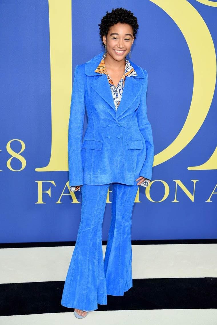 CFDA Fashion Awards 2018 Amandla Stenberg