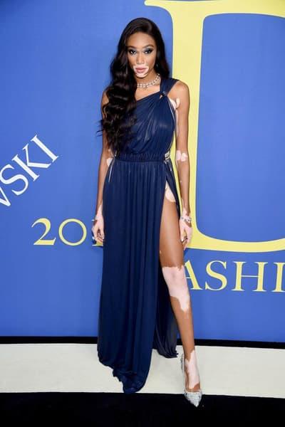 CFDA Fashion Awards 2018 Winnie Harlow
