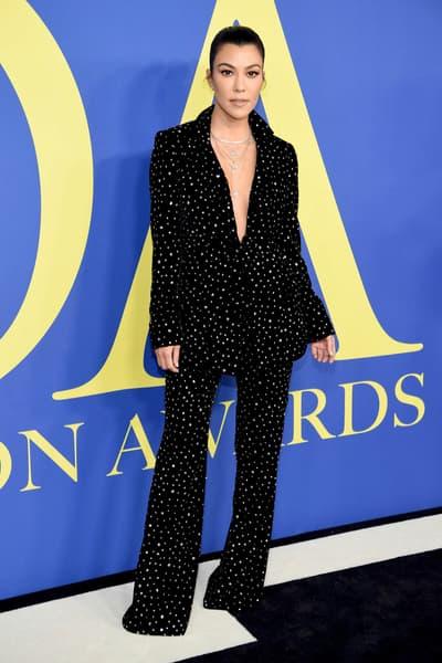 CFDA Fashion Awards 2018 Kourtney Kardashian