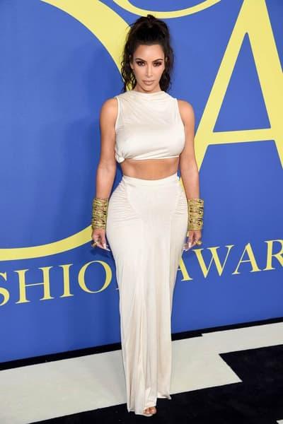 CFDA Fashion Awards 2018 Kim Kardashian