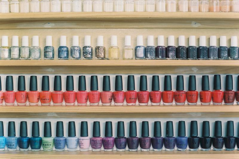 Nail Polish Manicure Nailbox Los Angeles OPI Products essie