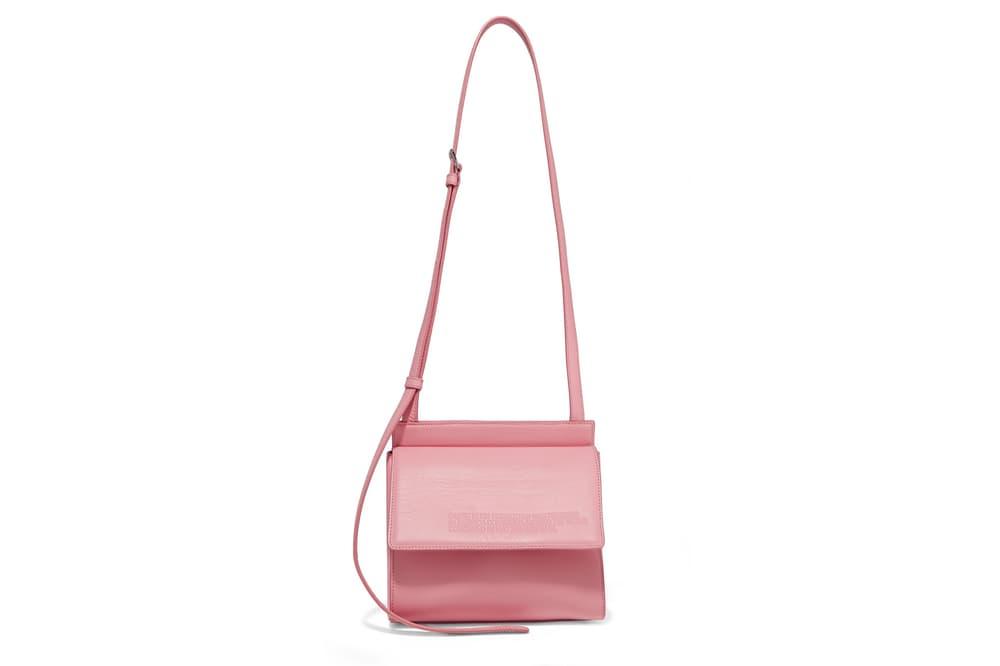 CALVIN KLEIN 205W39NYC Pink Panther Leather Shoulder Bag Raf Simons