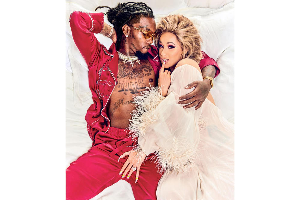 Cardi B Offset Rolling Stone July 2018 Cover