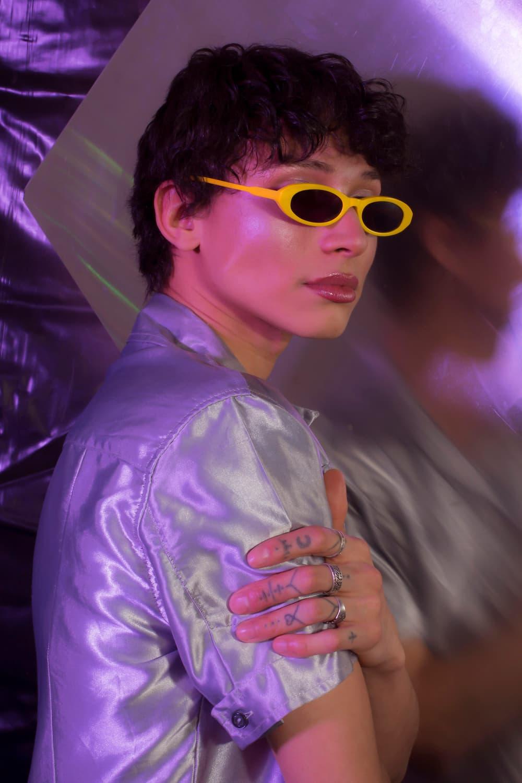 CHIMI x Joeh Ighe New Colorway Sunglasses Shades Tiny Sunglasses Sunnies Matrix Inspired Retro 90s