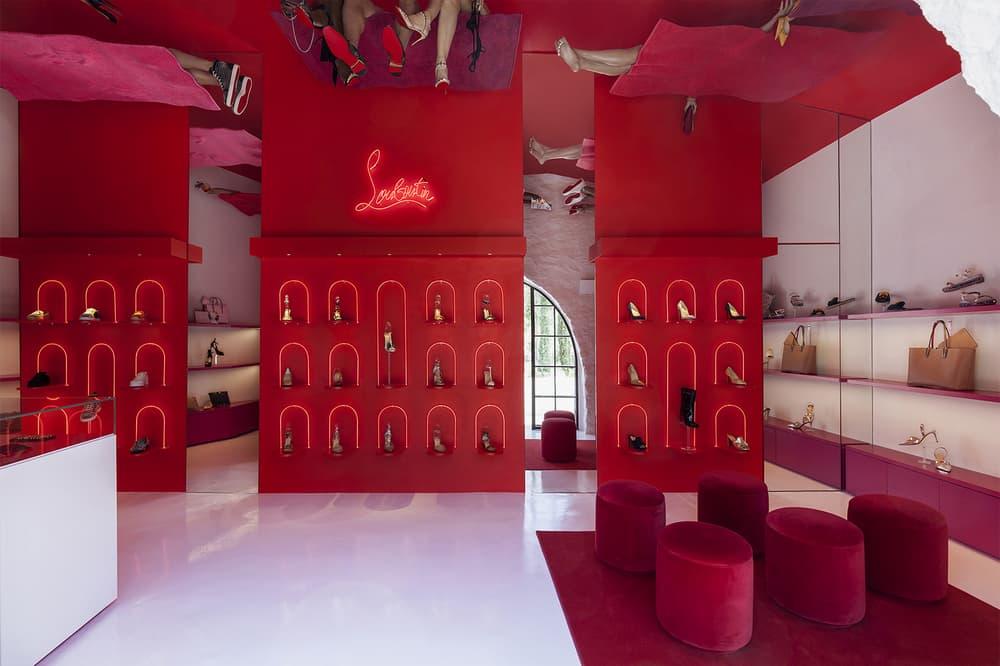 Christian Louboutin Loubi Beach Mykonos Pop-Up Store 2018