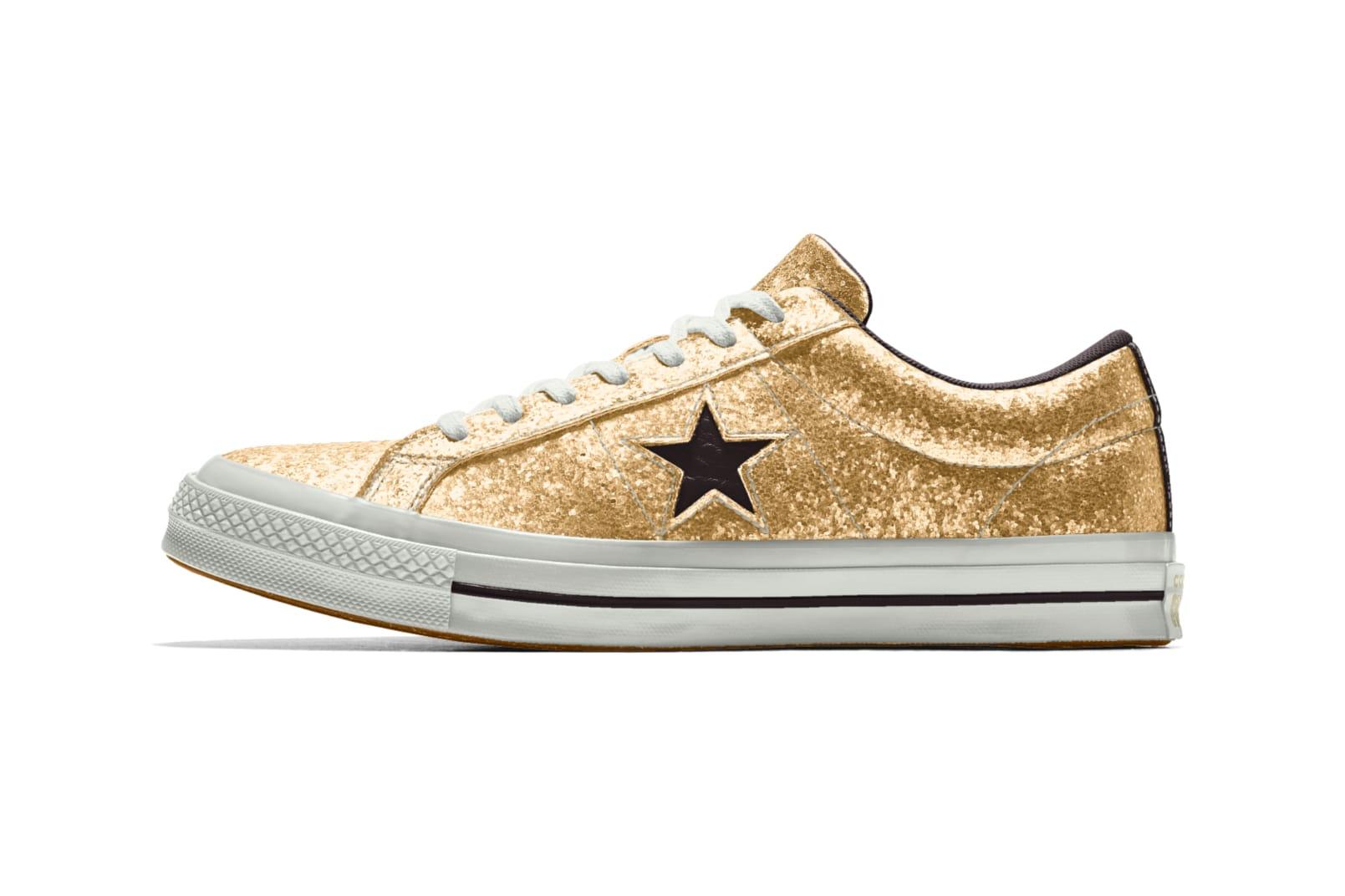 converse one star stripe